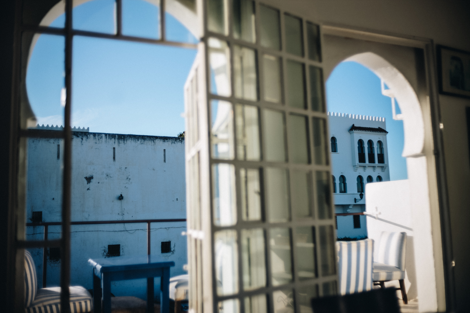 a perspective from Salon Blue : Tangier